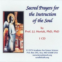 Sacred Prayers for the  Instruction of The Soul